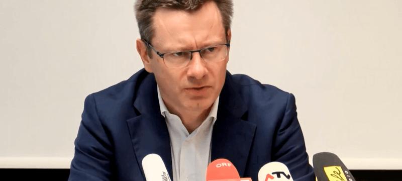 Christian Wozabal - Pressekonferenz Insolvenz